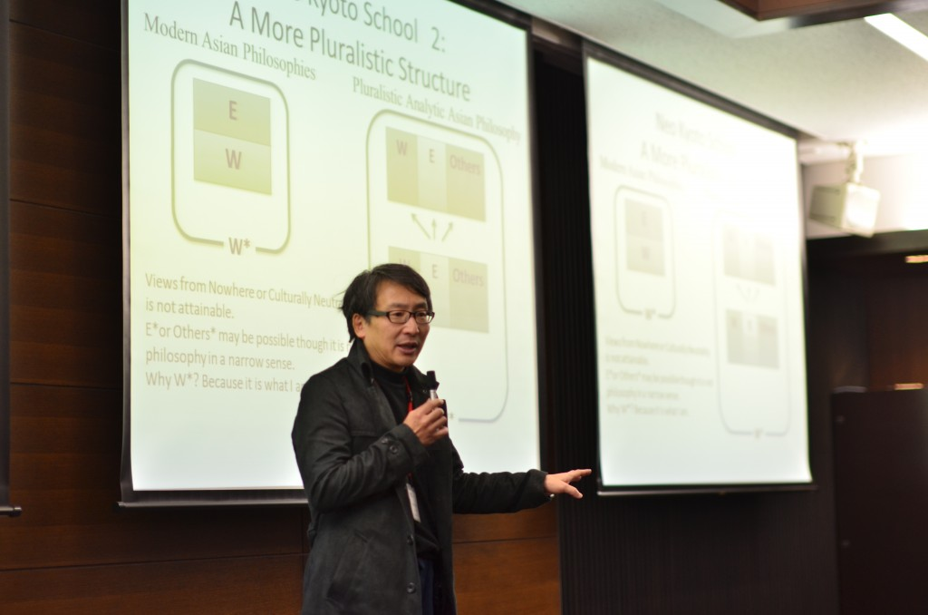 """Keynote Speech by Assoc. Prof. Yasuo DEGUCHI, entitled """"Welcome to Analytic Asian Philosophy!"""""""